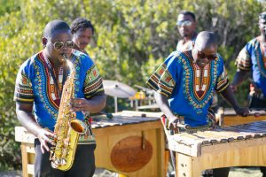 Marimba Band at South African Wedding