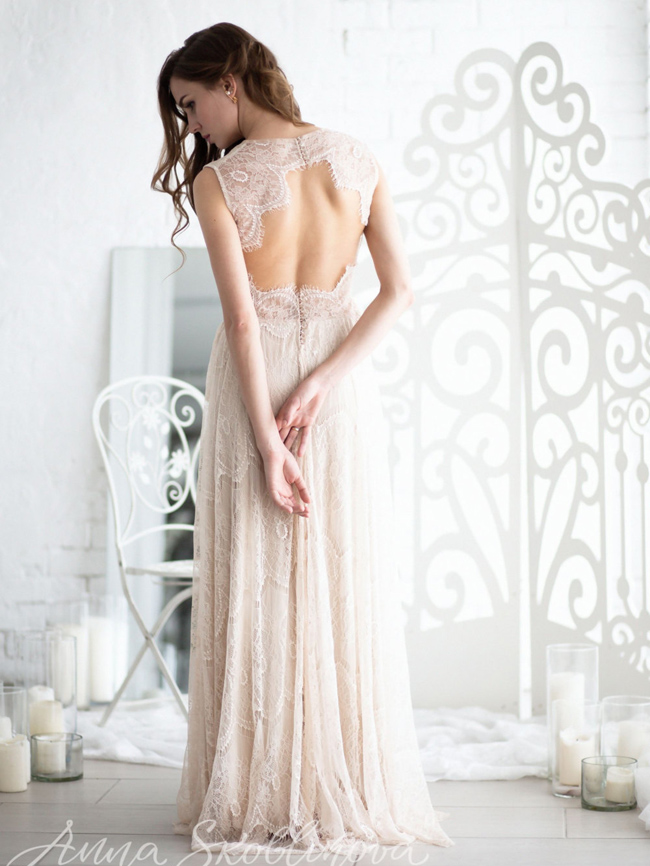 Boho Wedding Dresses from Etsy (8)