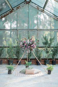 Floral Tipi