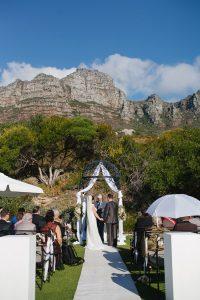 Cape Town Mountain Wedding Ceremony
