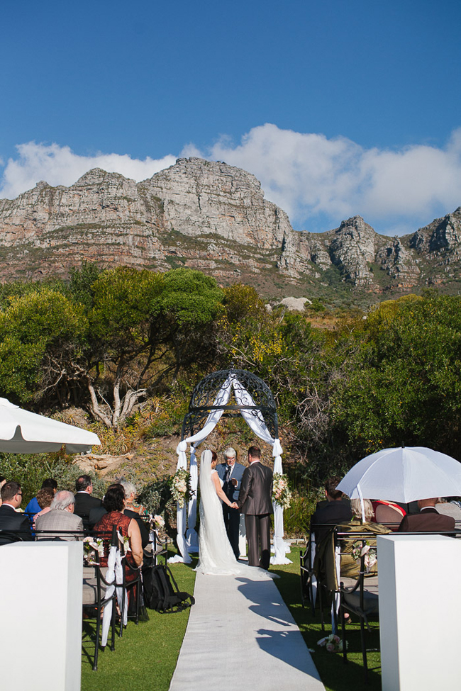 Cape Town Mountain Wedding Ceremony