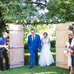 Rustic Farm Wedding with Pops of Blue by Linda Fourie