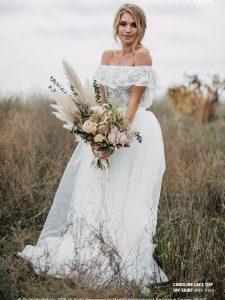 Wedding Dresses for a Boho Bride