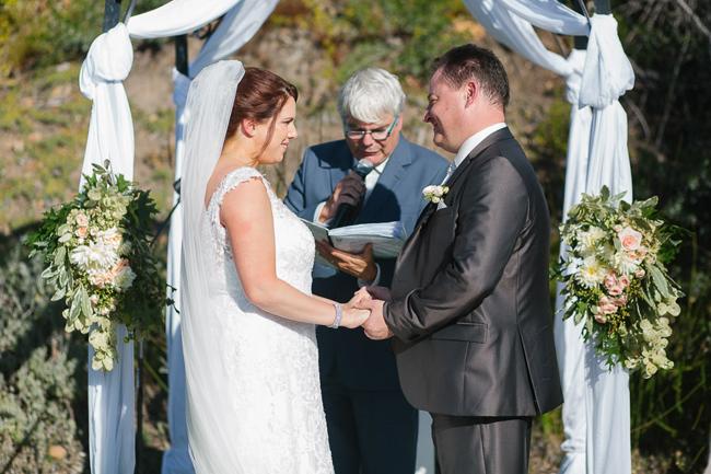Draped Ceremony Arch