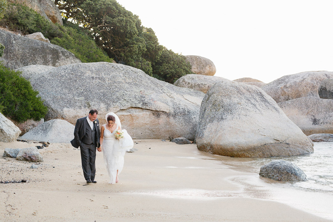 Cape Town Beach Wedding Portrait