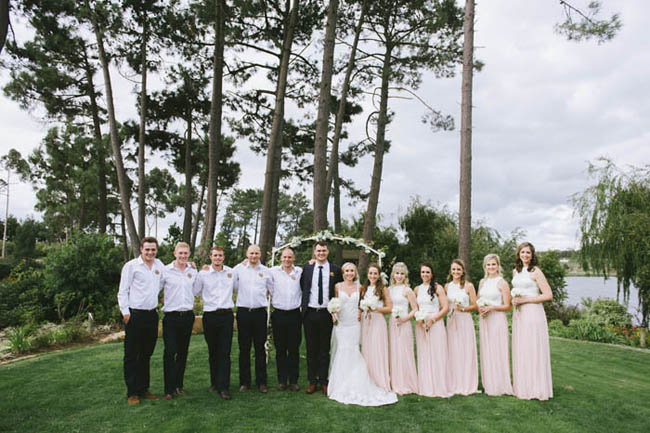 Just Peachy Winelands Wedding by Claire Thomson