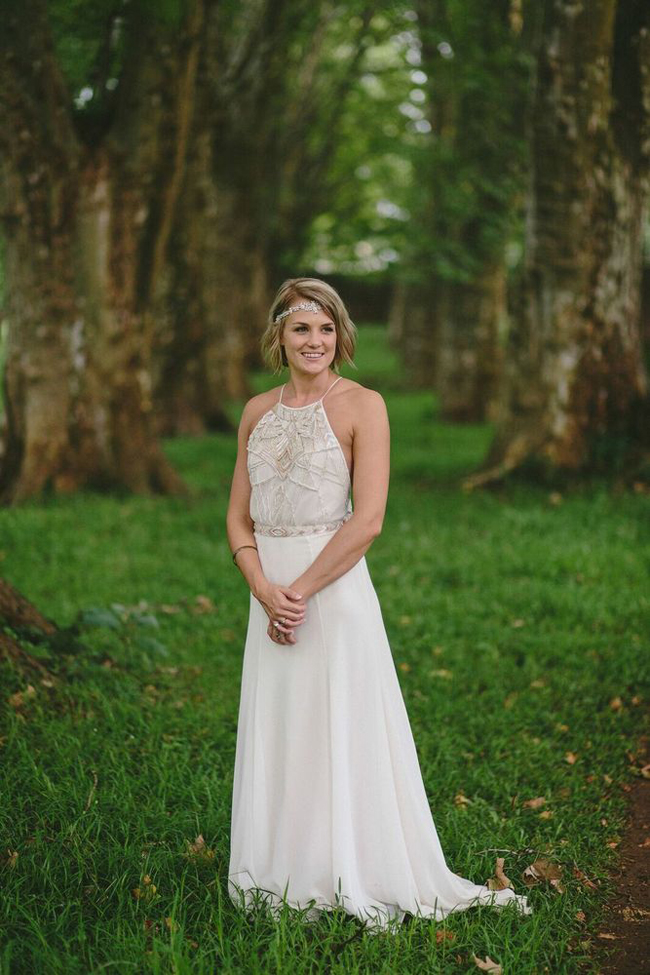 Julia Ferrandi Boho Wedding Dress