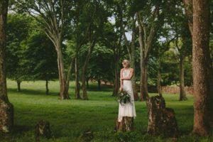 Boho Bridal Portrait