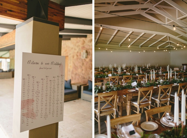 Table Plan & Reception Decor