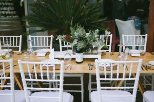 Elegant Rustic Wedding Table Decor