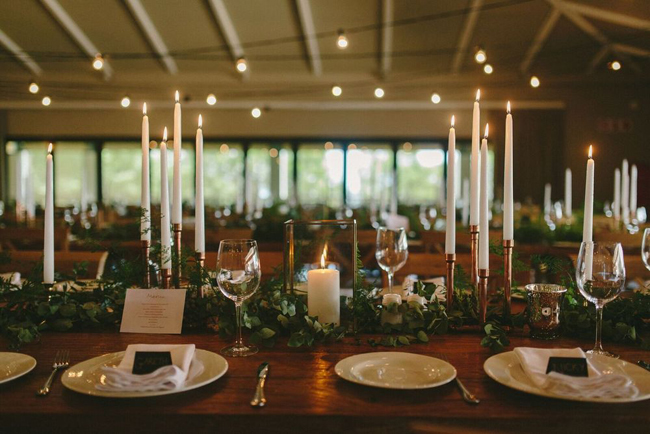 Boho Natural Table Setting