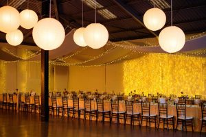 Twinkle Light Reception Decor