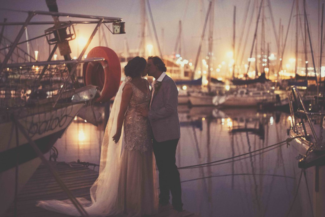 Cape Town Waterfront Wedding Portrait