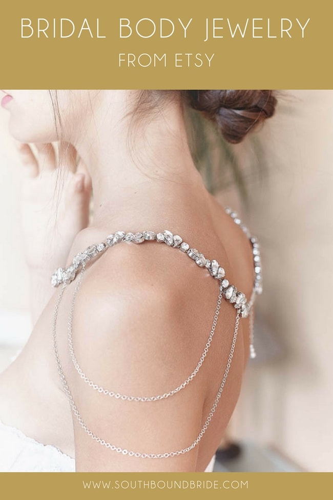 Bridal Body Jewelry from Etsy | SouthBound Bride