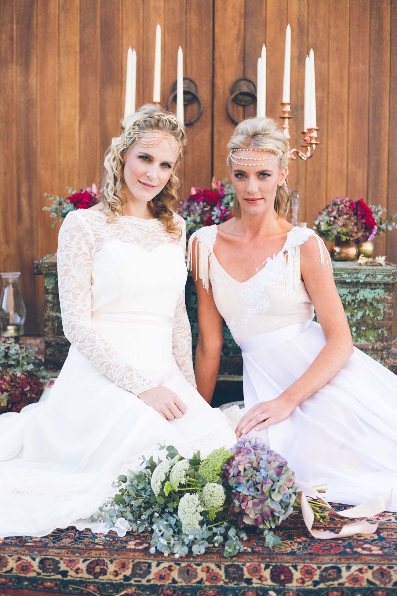 Boho Wedding Dresses Midlands : Festival chic wedding inspiration wanderlust forever after