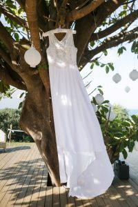 Embellished Boho Wedding Dress | Image: Long Exposure