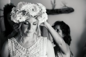 Floral Headpiece | Image: Long Exposure