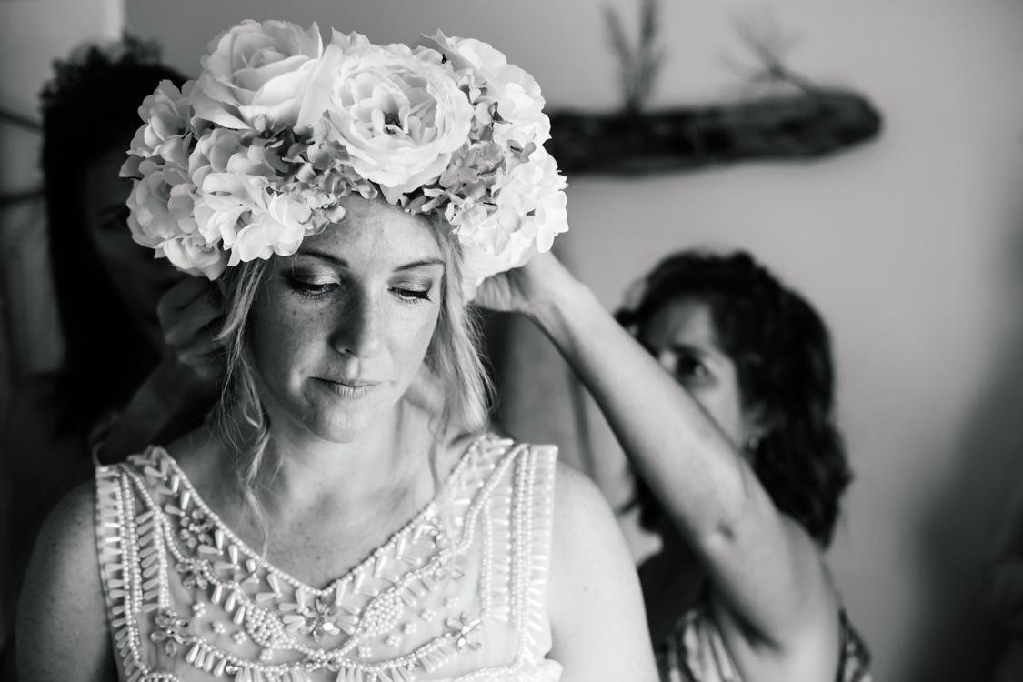 Floral Headpiece | Image: Long Exposure
