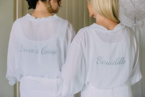 Bride and Bridesmaid Robes | Credit: Michelle du Toit