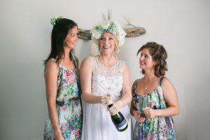 Flower Print Bridesmaids | Image: Long Exposure