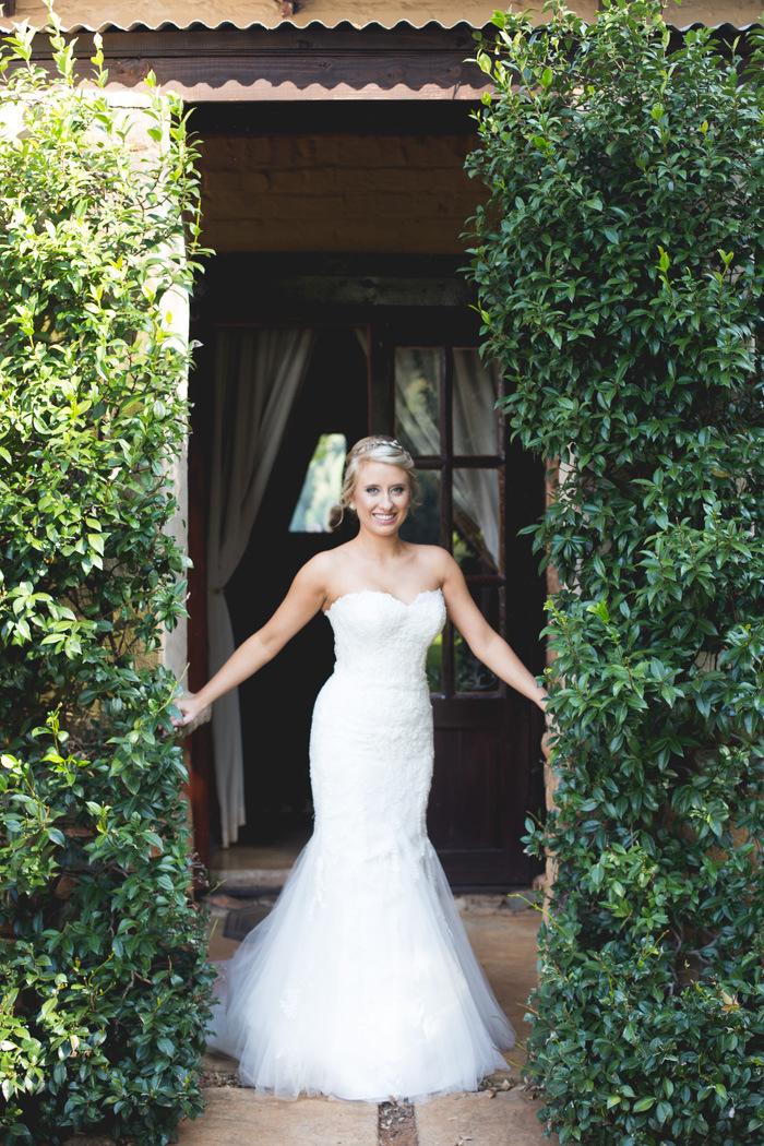 Trumpet Wedding Dress | Credit: Those Photos