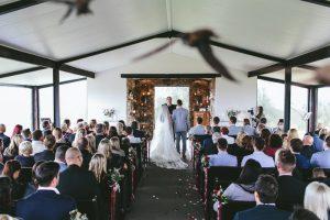 Netherwood Wedding Ceremony | Credit: Knot Just Pics