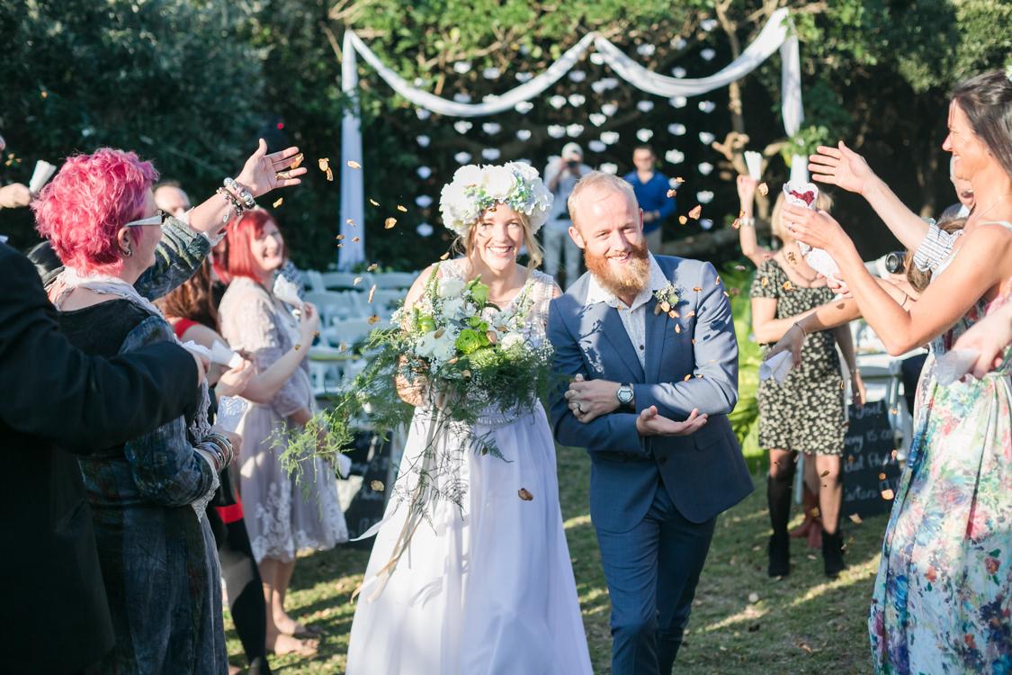 Outdoor Wedding Ceremony   Image: Long Exposure