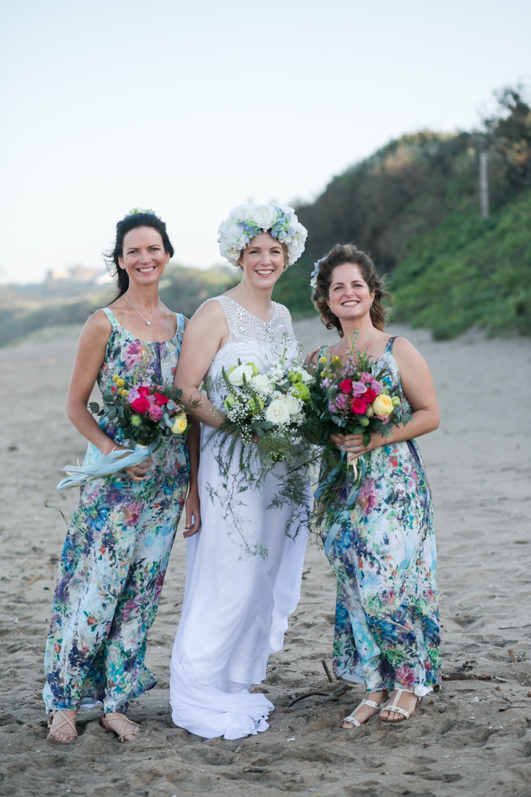 Long Floral Print Bridesmaid Dresses | Image: Long Exposure