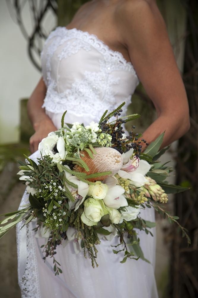 Banksia Wedding Bouquet | Credit: Mooi Photography