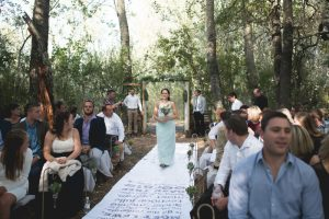 Printed Aisle Runner | Credit: Those Photos