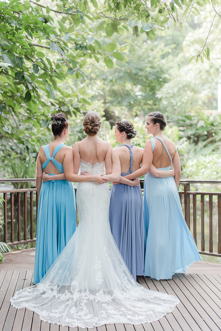 Ocean blue wedding at maroupi by lightburst photography for Ocean blue wedding dress