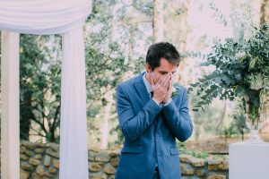 Emotional Groom | Credit: Michelle du Toit