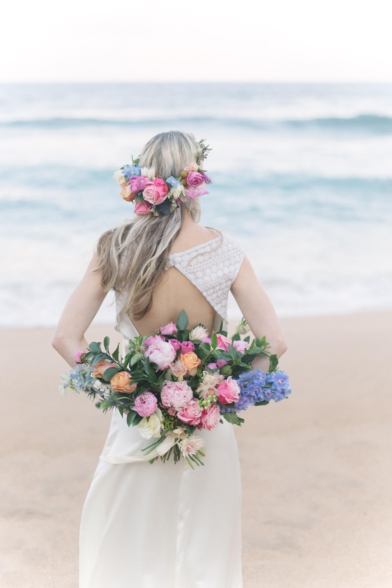 Pastel Boho Bride