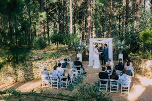 Intimate Forest Wedding | Credit: Michelle du Toit