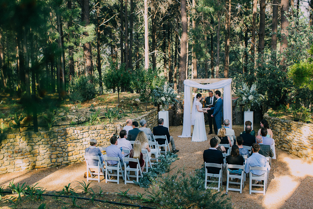 Intimate Forest Wedding | Credit: Michelle du Toit