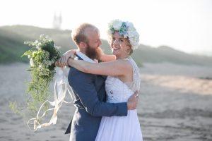 Bride and Groom | Image: Long Exposure