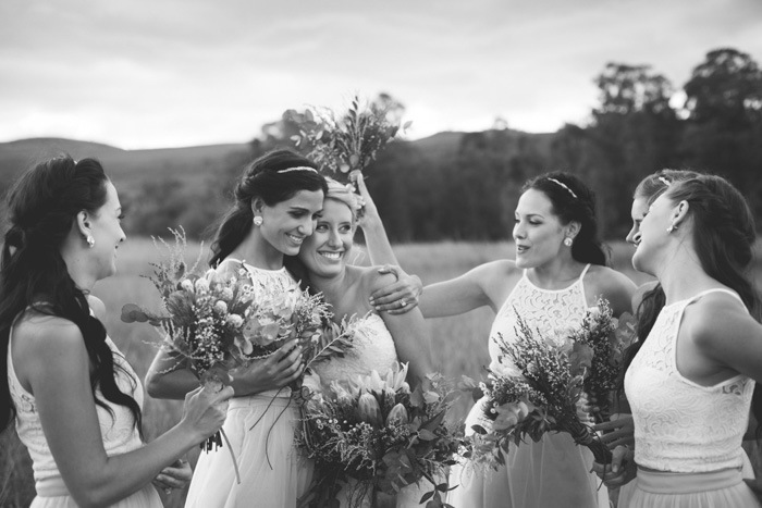 Bridesmaids Wedding Moment | Credit: Those Photos