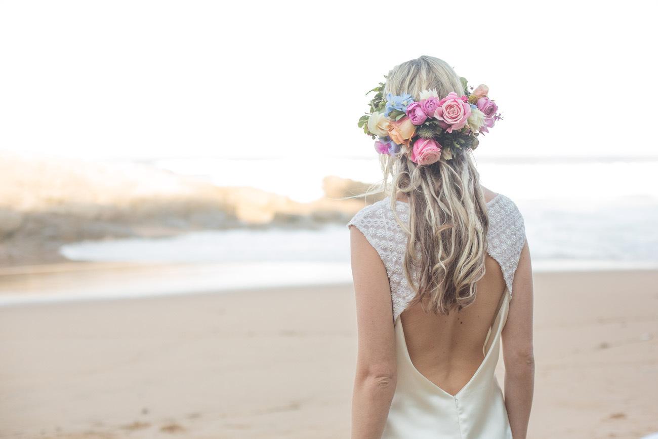 Keyhole Back Detail Wedding Dress