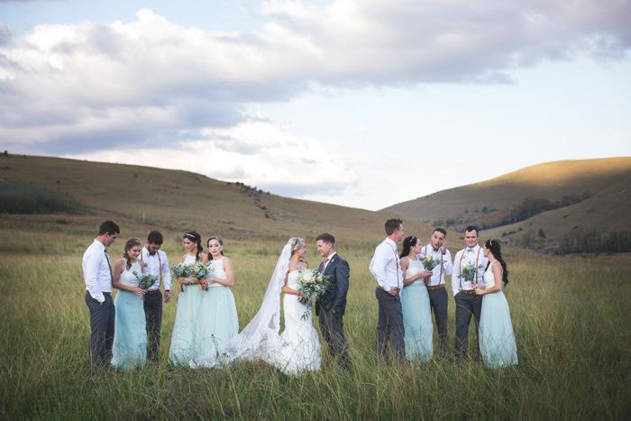 Wedding Party Portrait | Credit: Those Photos