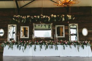 Floral Luxe Wedding Reception Decor | Credit: Knot Just Pics