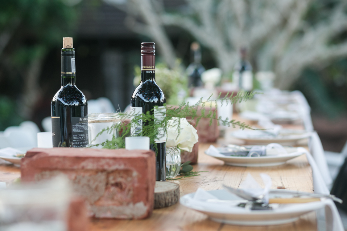 Rustic Wedding Tablescape | Image: Long Exposure