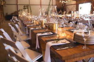 Industrial Table Decor | Credit: Those Photos