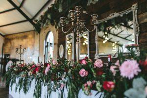 Jewel Tone Florals | Credit: Knot Just Pics