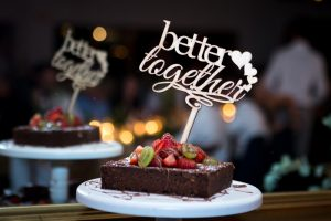 Brownie Wedding Cake Alternative
