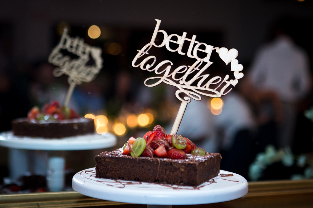 Brownie Wedding Cake Alternative