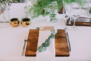 Natural Elegance Place Setting | Credit: Michelle du Toit