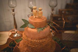 Rice Krispie Wedding Cake | Credit: Those Photos