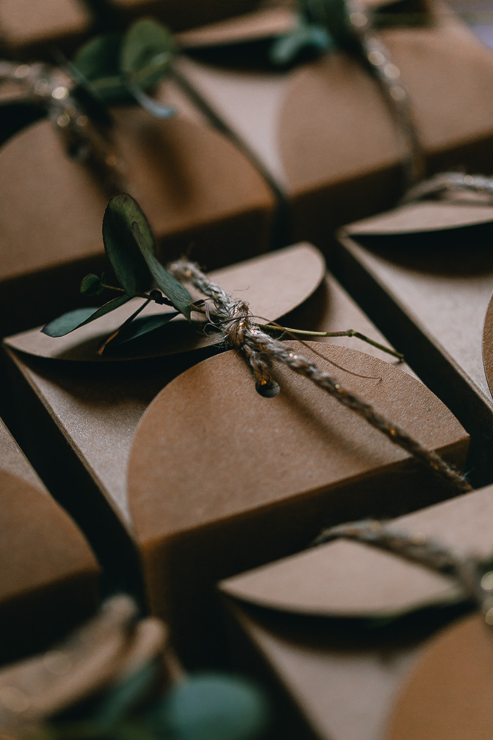 Kraft Favor Boxes | Credit: Michelle du Toit