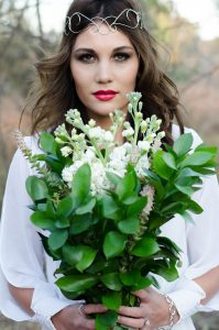 Simple Greenery Bouquet   Credit: MORE Than Just Photography