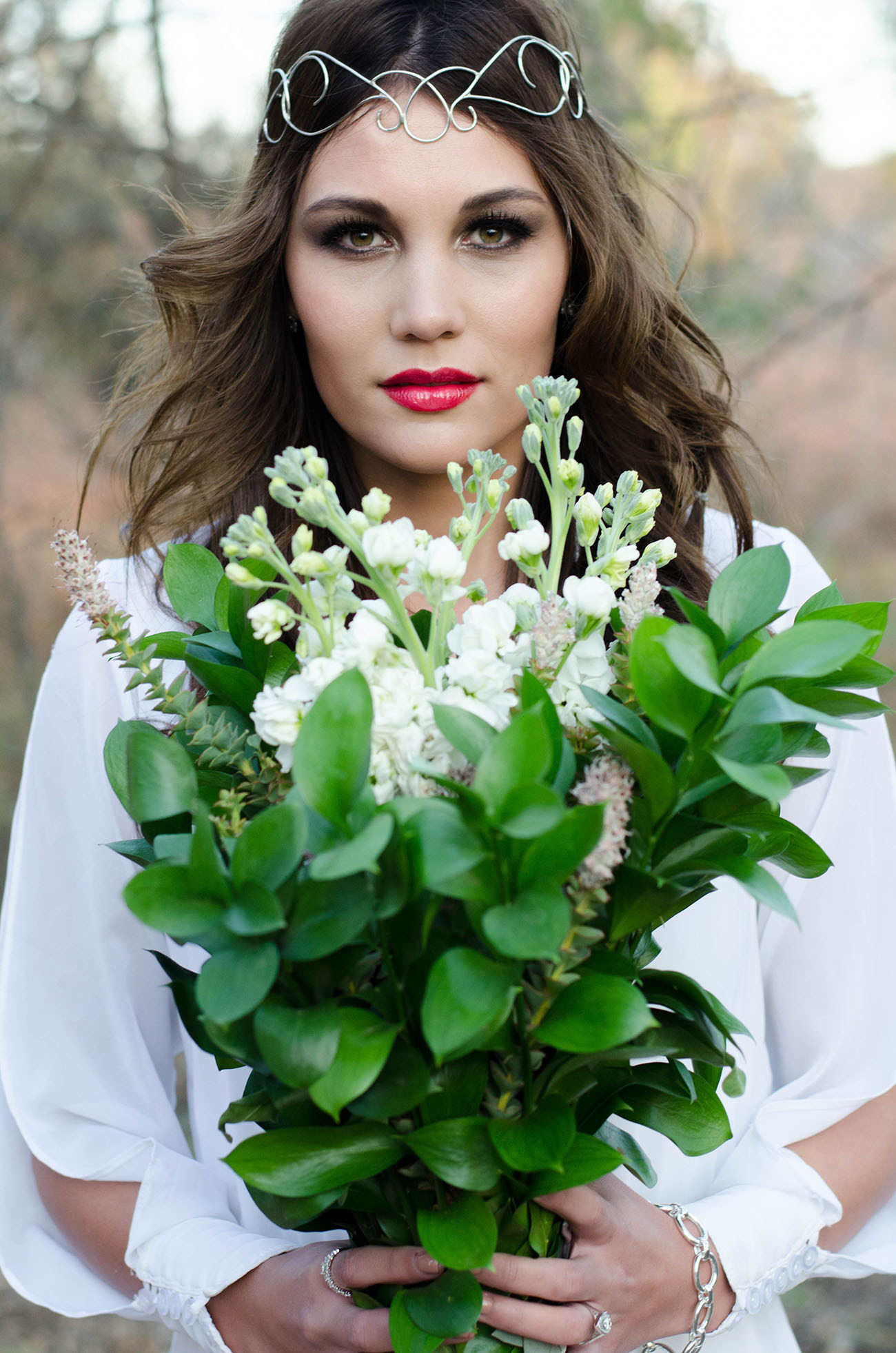 Simple Greenery Bouquet | Credit: MORE Than Just Photography
